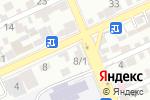 Схема проезда до компании ДАУЛЕТ БИ в Шымкенте