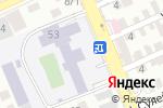 Схема проезда до компании Дорожно-транспортный колледж в Шымкенте