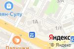 Схема проезда до компании Адвокат Лаврентьева О.Н. в Шымкенте