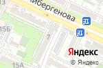Схема проезда до компании Season Travel в Шымкенте