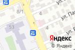 Схема проезда до компании Дана в Шымкенте