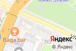 Схема проезда до компании ТАЙНА в Шымкенте