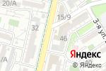 Схема проезда до компании Каскад в Шымкенте