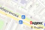 Схема проезда до компании БИТКОМ в Шымкенте