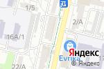 Схема проезда до компании Fora в Шымкенте