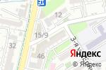 Схема проезда до компании Шарапат в Шымкенте