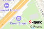 Схема проезда до компании bal-bala в Шымкенте