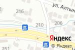 Схема проезда до компании Нурайым ана в Шымкенте