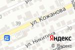 Схема проезда до компании ШЕРЗАД в Шымкенте