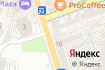 Схема проезда до компании Разита в Шымкенте