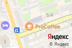 Схема проезда до компании Тэш в Шымкенте