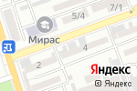 Схема проезда до компании Адвокат Сраждинов К в Шымкенте