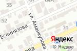 Схема проезда до компании Зухра в Шымкенте