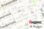Схема проезда до компании Райхона в Шымкенте