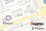 Схема проезда до компании Ырыс в Шымкенте