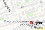Схема проезда до компании PRO-ENGLISH в Шымкенте