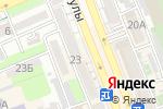 Схема проезда до компании Даму в Шымкенте