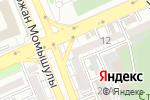 Схема проезда до компании Казахстанская организация ветеранов ОВД и национальной гвардии, ОО в Шымкенте