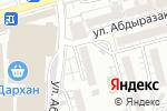 Схема проезда до компании AllService в Шымкенте