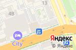 Схема проезда до компании Оптовая-розничная компания по продаже мебели в Шымкенте