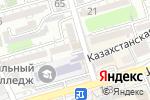 Схема проезда до компании Болат в Шымкенте