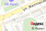 Схема проезда до компании Южно-Казахстанский государственный университет им. М. Ауезова, ГУ в Шымкенте