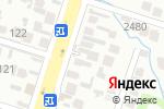 Схема проезда до компании БЕРЕКЕ-7 в Шымкенте