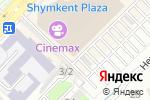 Схема проезда до компании VELAR в Шымкенте