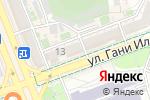 Схема проезда до компании Женя в Шымкенте
