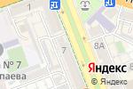 Схема проезда до компании NurAi & Co в Шымкенте