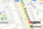 Схема проезда до компании Evrika в Шымкенте