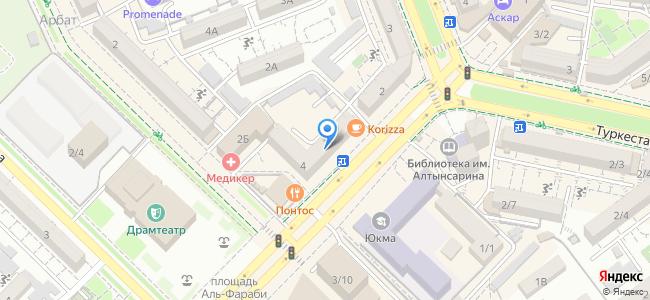 Казахстан, Шымкент, площадь Аль-Фараби, 4