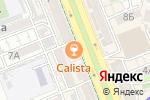 Схема проезда до компании Calista в Шымкенте