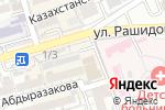 Схема проезда до компании Магазин по продаже куры-гриль в Шымкенте