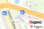 Схема проезда до компании Центр копировальных услуг и канцелярских товаров в Шымкенте