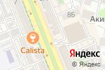 Схема проезда до компании Manako в Шымкенте
