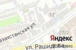 Схема проезда до компании A Style в Шымкенте