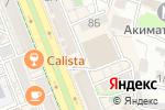 Схема проезда до компании Аққу в Шымкенте