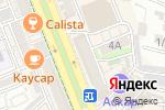 Схема проезда до компании А С интерьер в Шымкенте