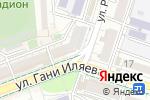 Схема проезда до компании POWER PRINT в Шымкенте