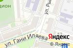 Схема проезда до компании Sachi в Шымкенте