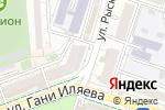 Схема проезда до компании Ганга в Шымкенте