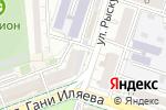 Схема проезда до компании Гламур в Шымкенте