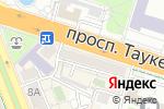 Схема проезда до компании Аманов и К, ТОО в Шымкенте