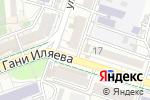 Схема проезда до компании Коркем в Шымкенте