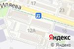 Схема проезда до компании Ай-Нуры, ТОО в Шымкенте