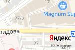 Схема проезда до компании Sulpak в Шымкенте