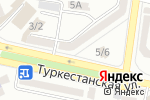 Схема проезда до компании САБЕЖ, ТОО в Шымкенте