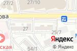 Схема проезда до компании Анара в Шымкенте