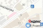 Схема проезда до компании Электрон в Шымкенте